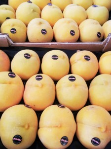 Empresa que distribuye melocoton amarillo embolsado confeccionado